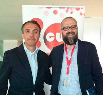 Carlos Fernández y Juan Royo