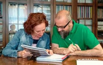 Rocío Jiménez y Juan Royo