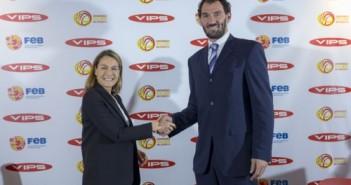 Acuerdo FEB y Grupo Vips GARBAJOSA