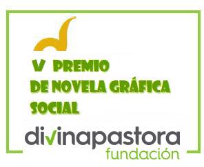 logo V  premio novela gráfica social