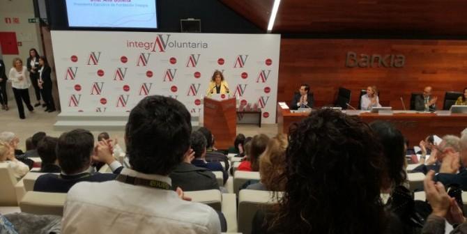 """La presidenta de Fundación Integra, Ana Botella, en """"Integra Voluntaria"""". / asz EFE"""
